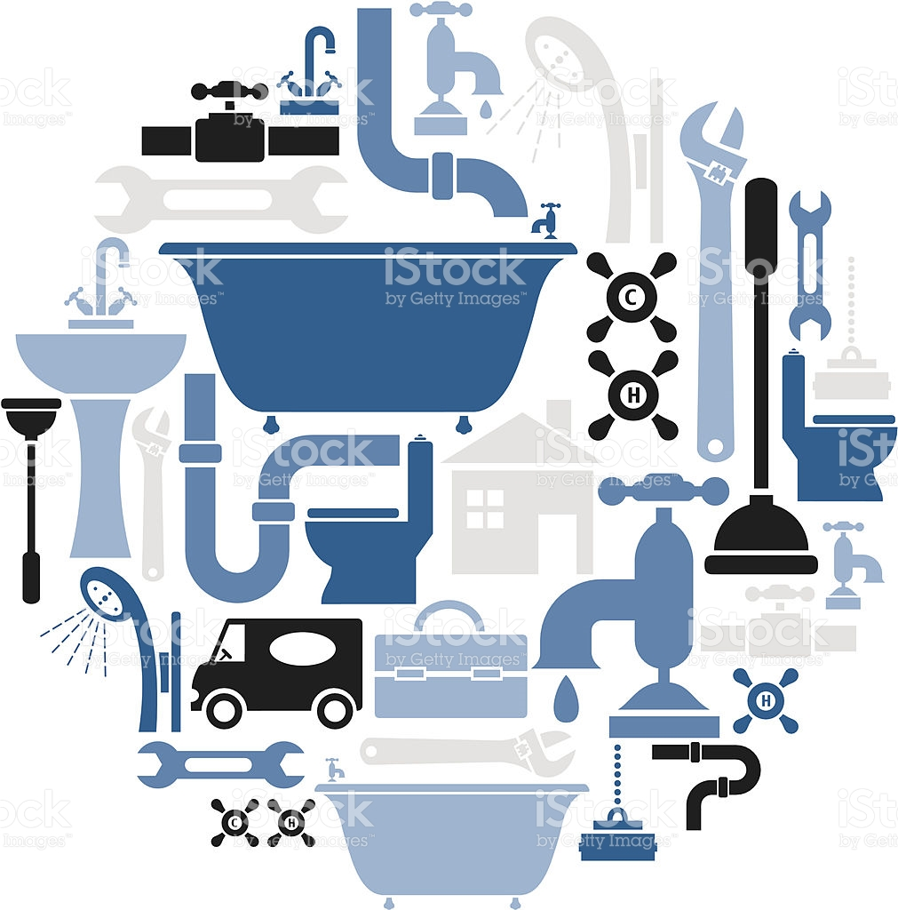 stock-illustration-22330498-plumbing-icon-set